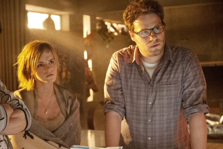 """Emma Watson, Seth Rogen in """"This Is the End"""""""