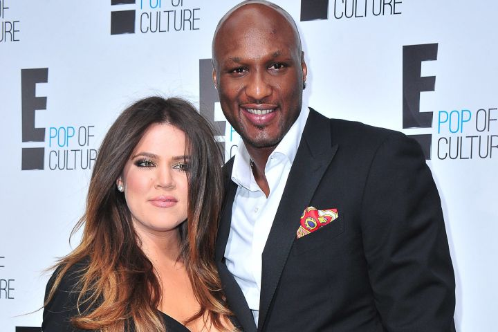 Khloe Kardashian - Lamar Odom - arrivals for E! Network Upfronts Presentation, Gotham Hall, New York, NY April 30, 2012. Photo By: Gregorio T. Binuya/Everett Collection