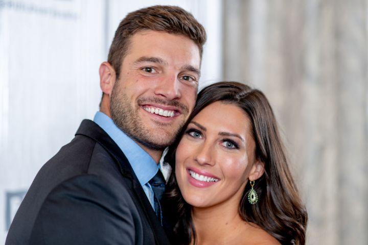 Becca Kufrin and Garrett Yrigoye