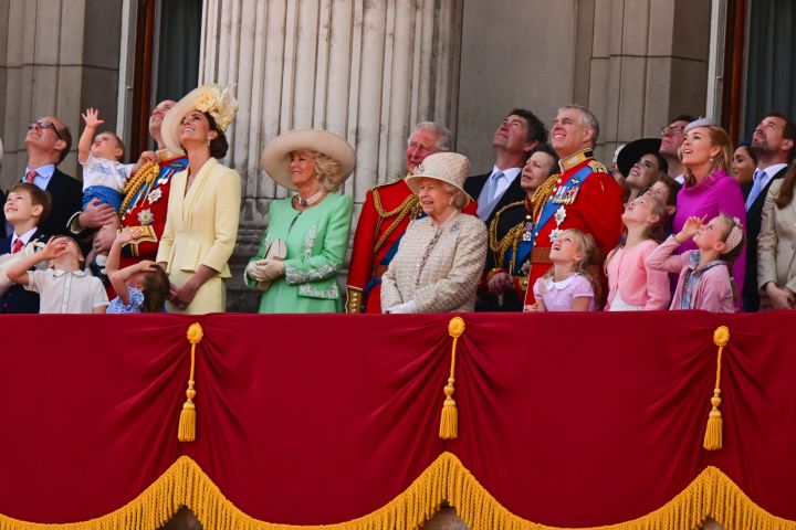 Trooping the Colour 2019. Credit: Getty