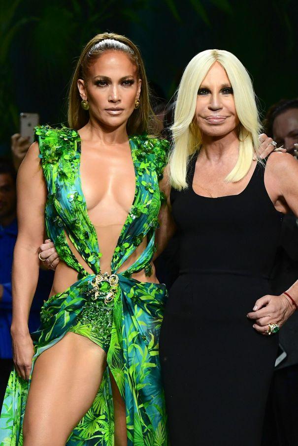 Donatella Versace, Versace