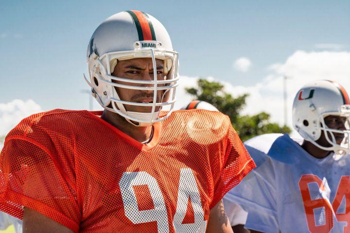 Uli Latukefu as Dwayne Johnson in 'Young Rock'