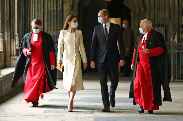 Kate Middleton, Prince William Return To Westminster Abbey