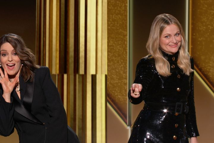 Tina Fey and Amy Poehler Golden Globes 2021 Opening Monologue