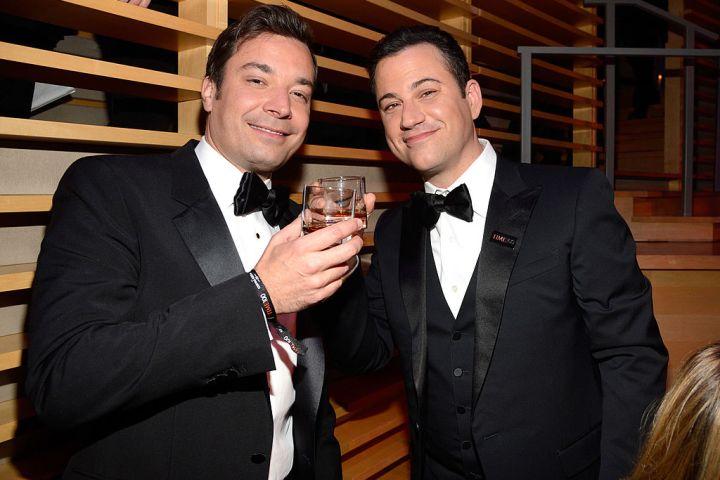 Jimmy Fallon and Jimmy Kimmel