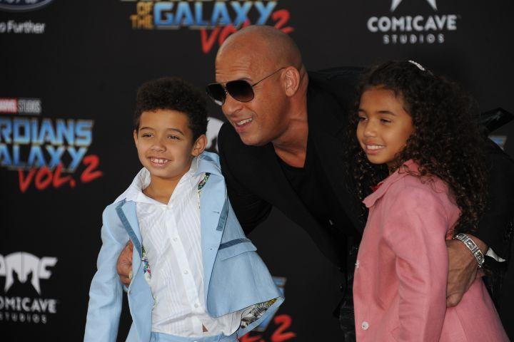 Vin Diesel, Vincent Sinclair, Hania Riley Sinclair