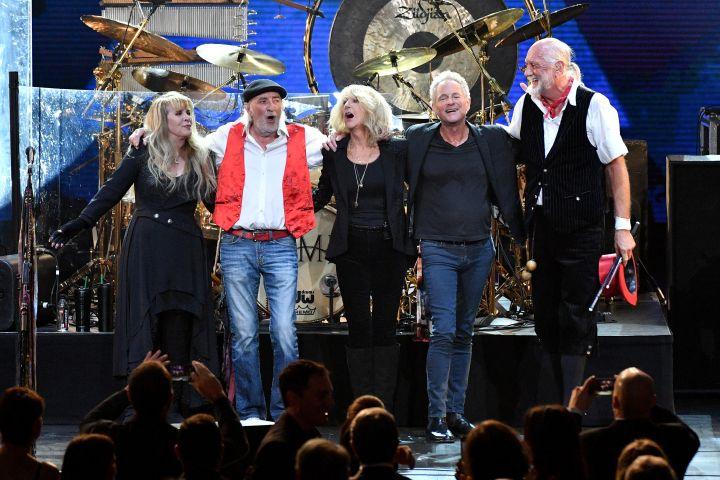 Stevie Nicks, John McVie, Christine McVie, Lindsey Buckingham and Mick Fleetwood - Getty Images
