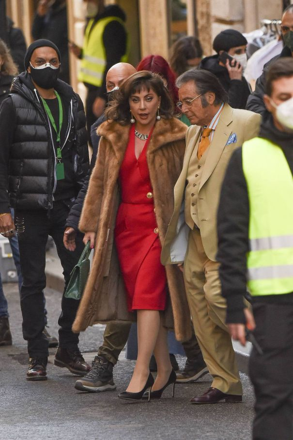 Lady Gaga And Al Pacino Film 'House Of Gucci'