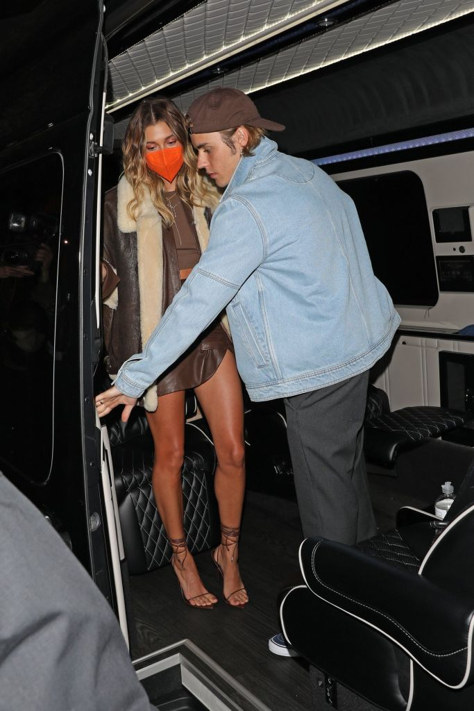 Justin and Hailey Bieber. Photo: MEGA