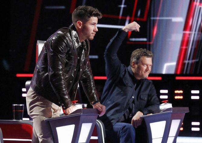 Nick Jonas - Blake Shelton -The Voice - Season 20