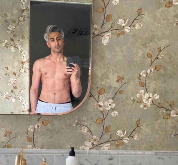 Tan France Shows Off Ripped Bod