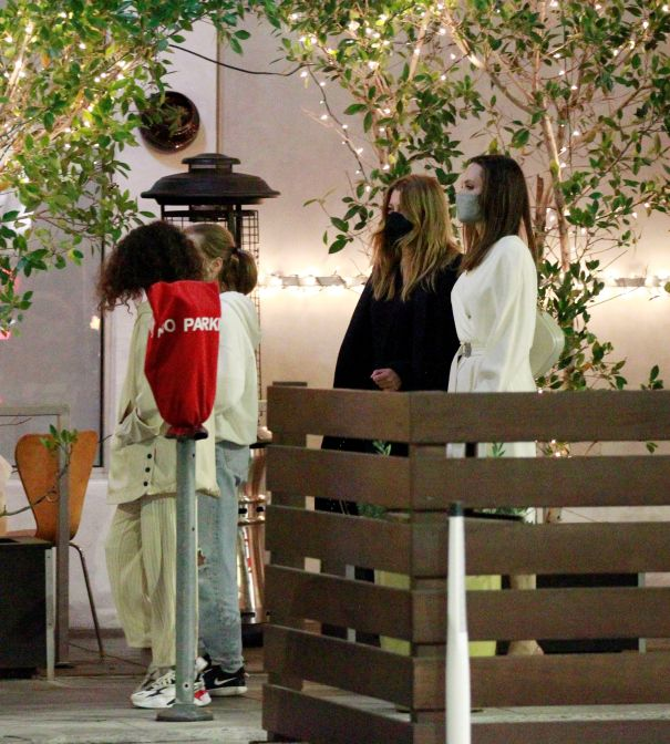 Date Night With Angelina Jolie And Ellen Pompeo