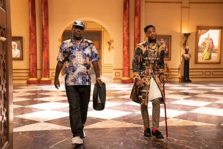 Tracy Morgan and Jermaine Fowler star in COMING 2 AMERICA