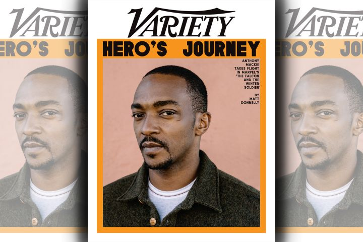 Anthony Mackie. Photo: William Widmer for Variety