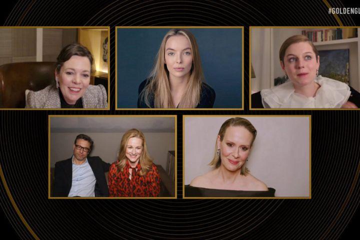 Olivia Colman, Golden Globes 2021