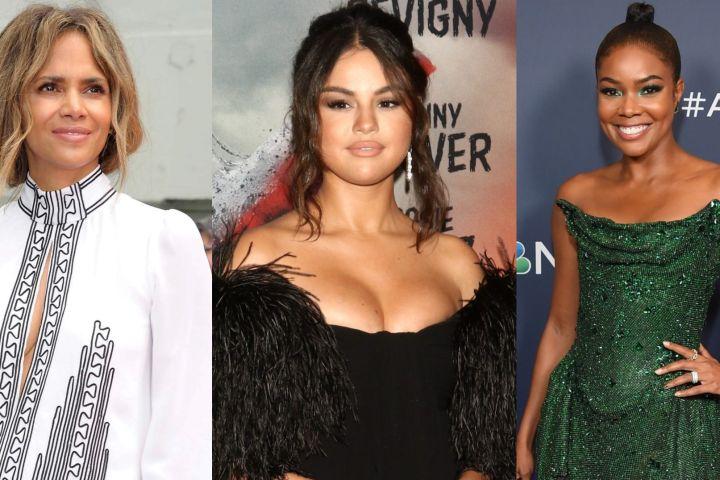 Halle Berry, Selena Gomez, Gabrielle Union.