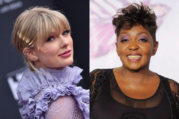 Taylor Swift and Anita Baker