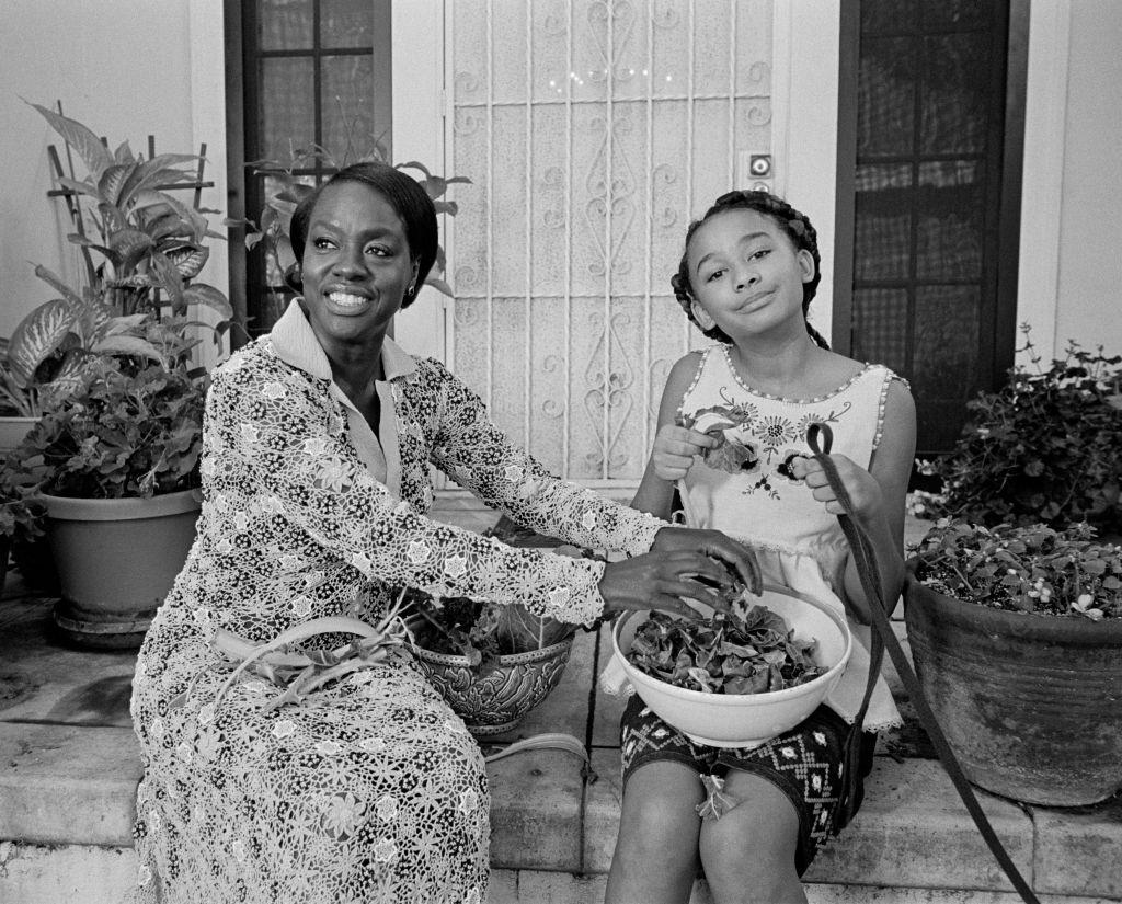 Viola Davis and her daughter Genesis.