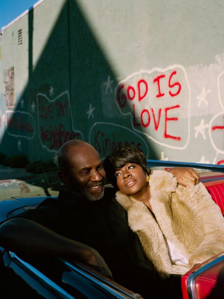 Viola Davis and Julius Tennon.