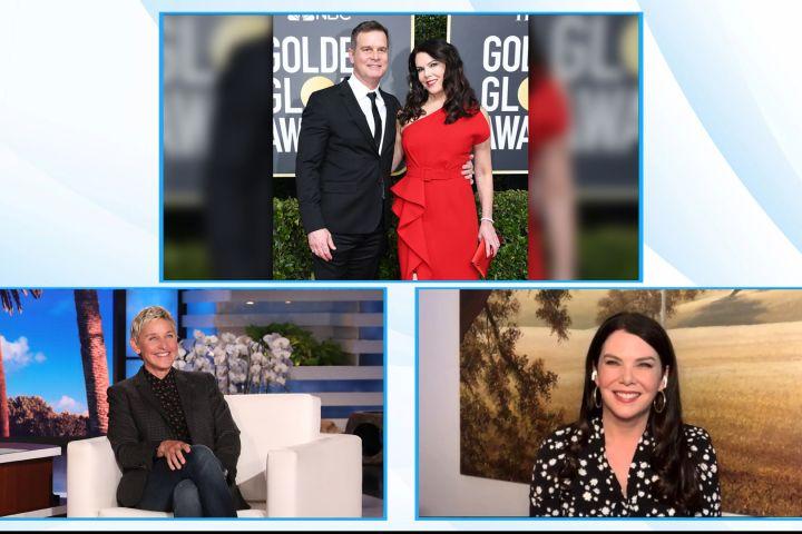 """Lauren Graham on """"The Ellen DeGeneres Show""""."""