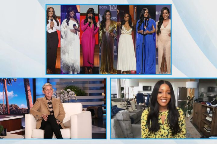 "Mickey Guyton on ""The Ellen DeGeneres Show"""