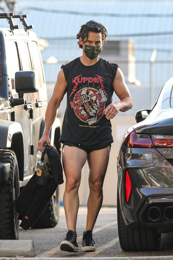 Milo Ventimiglia: Leg Day All Day
