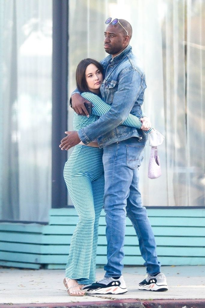 Kacey Musgraves and Dr. Gerald Onuoha. Photo: Backgrid