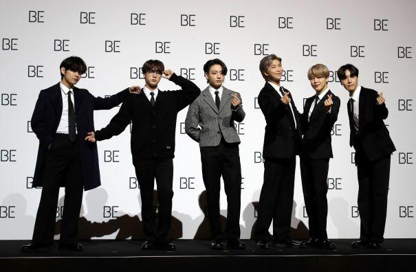 BTS Make Platinum-Tinted History