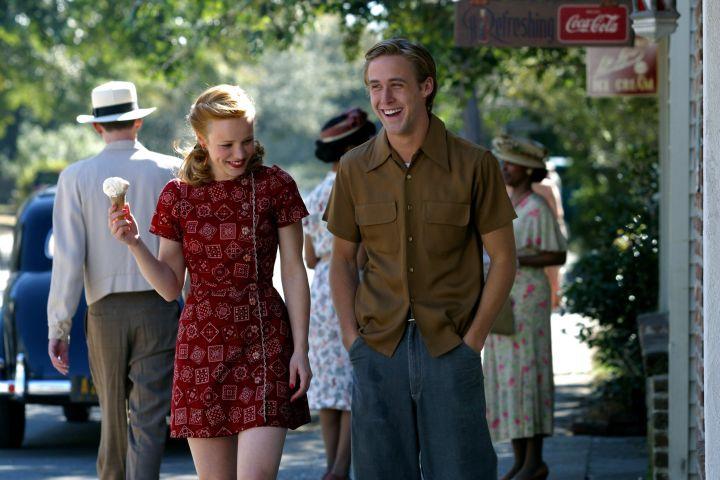 """The Notebook"", Rachel McAdams, Ryan Gosling, 2004"