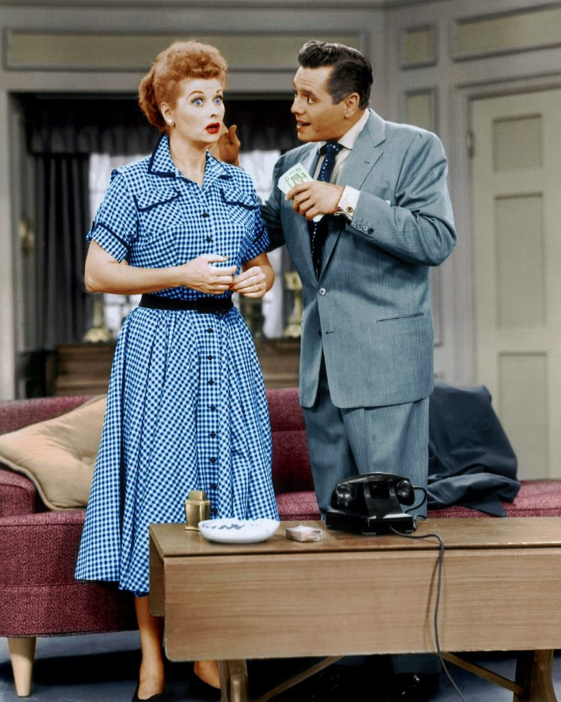 """""""I LOVE LUCY"""" Lucille Ball, Desi Arnaz. Photo: CPImages"""