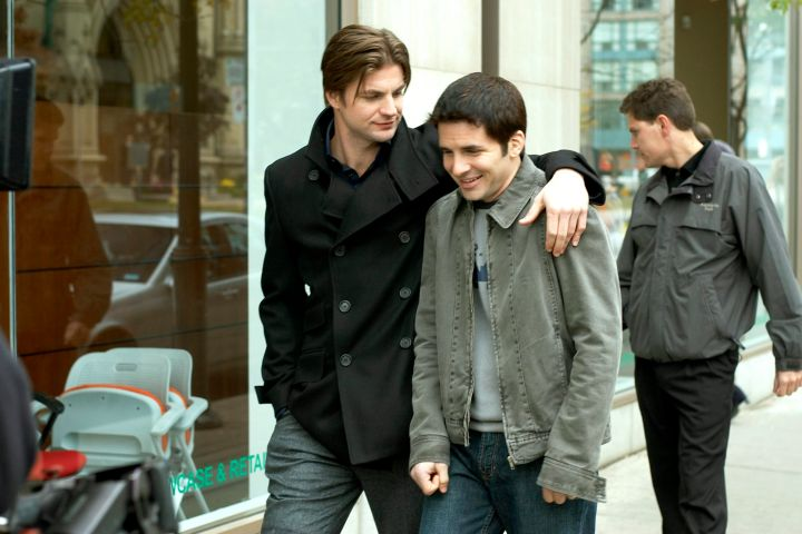 """Queer as Folk"": Gale Harold, Hal Sparks, (Season 5), 2000-2005."