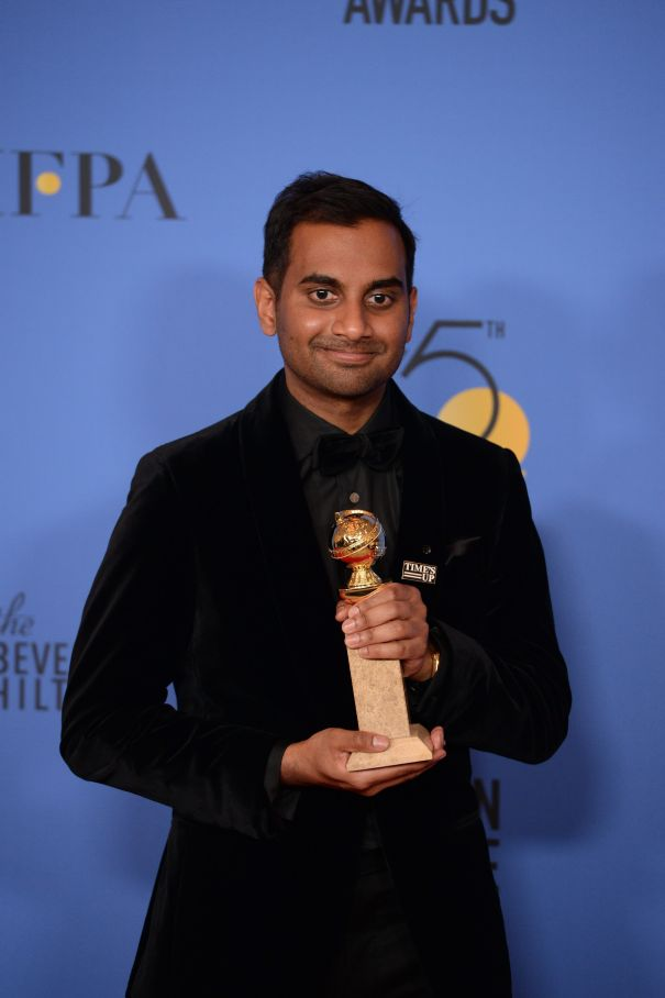 Aziz Ansari's Golden Globe