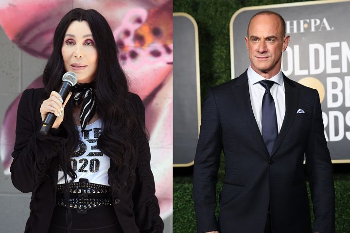 Cher and Christopher Meloni