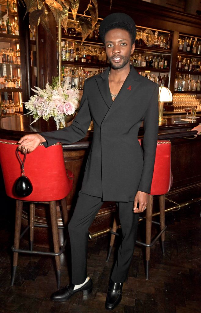 """""""Wise Children"""" star Omari Douglas attends the 29th Annual Elton John AIDS Foundation Academy Awards Viewing Party. Photo: David M. Benett/Getty Images for the Elton John AIDS Foundation"""