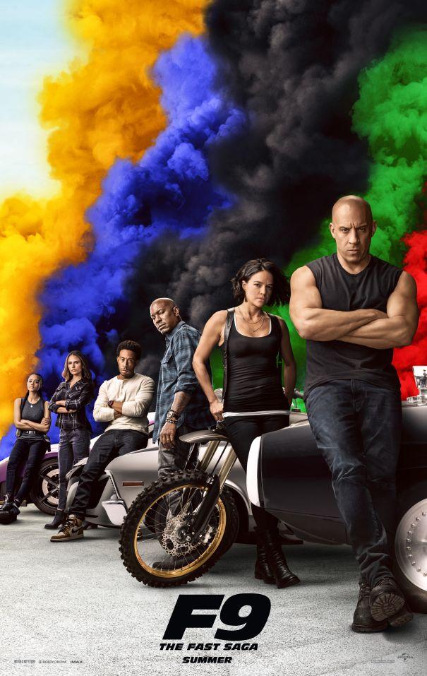 'F9: The Fast Saga' - June 25
