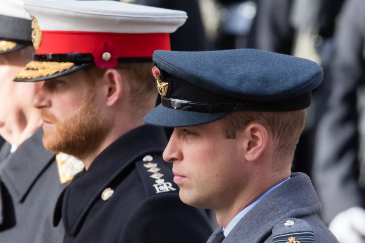 :  Prince Harry, Duke of Sussex and Prince William, Duke of Cambridge