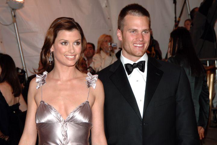 Bridget Moynahan and Tom Brady.
