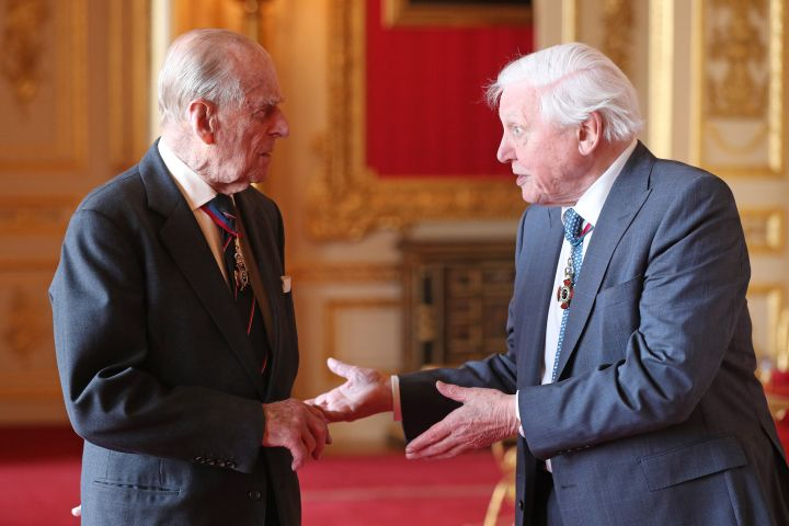 Prince Philip and Sir David Attenborough