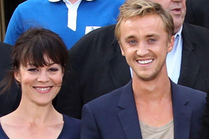 Tom Felton, Helen McCrory