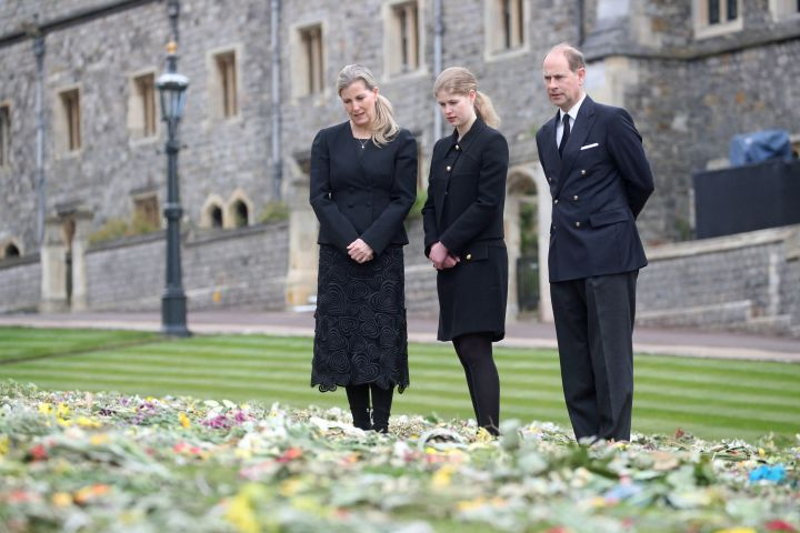 Prince Edward, Earl of Wessex, Sophie, Countess of Wessex, Lady Louise Windsor