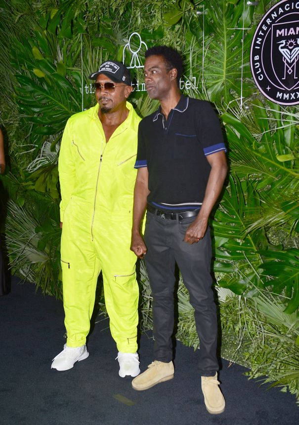 Timbaland And Chris Rock