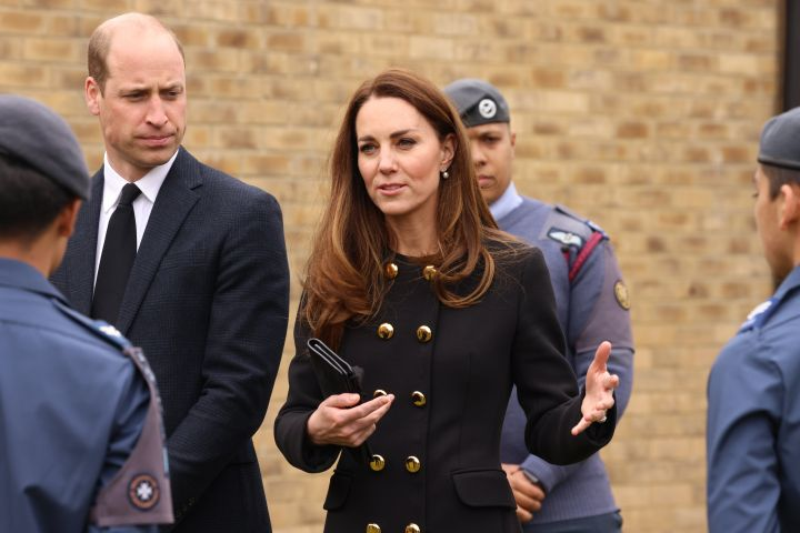 Kate Middleton, Prince William.