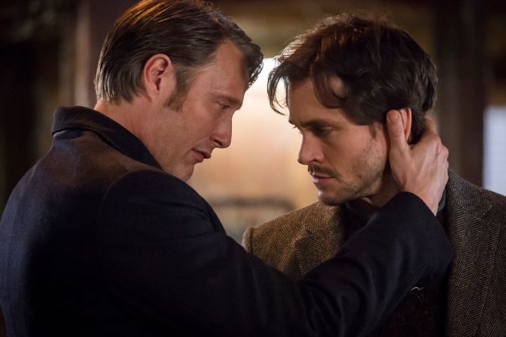 Mads Mikkelsen and Hugh Dancy in 'Hannibal'