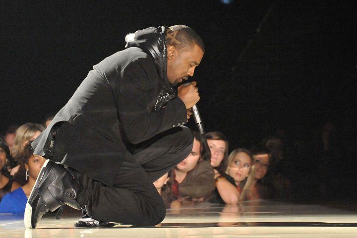 Kanye West at the 2008 GRAMMY Awards