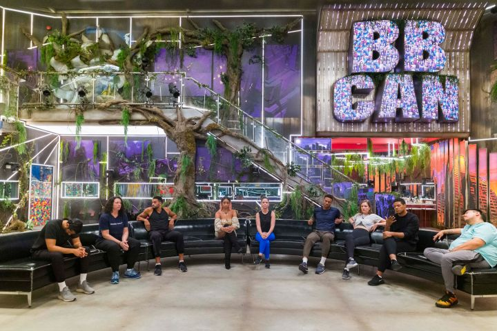 Big Brother Canada - Houseguests at the eviction ceremony