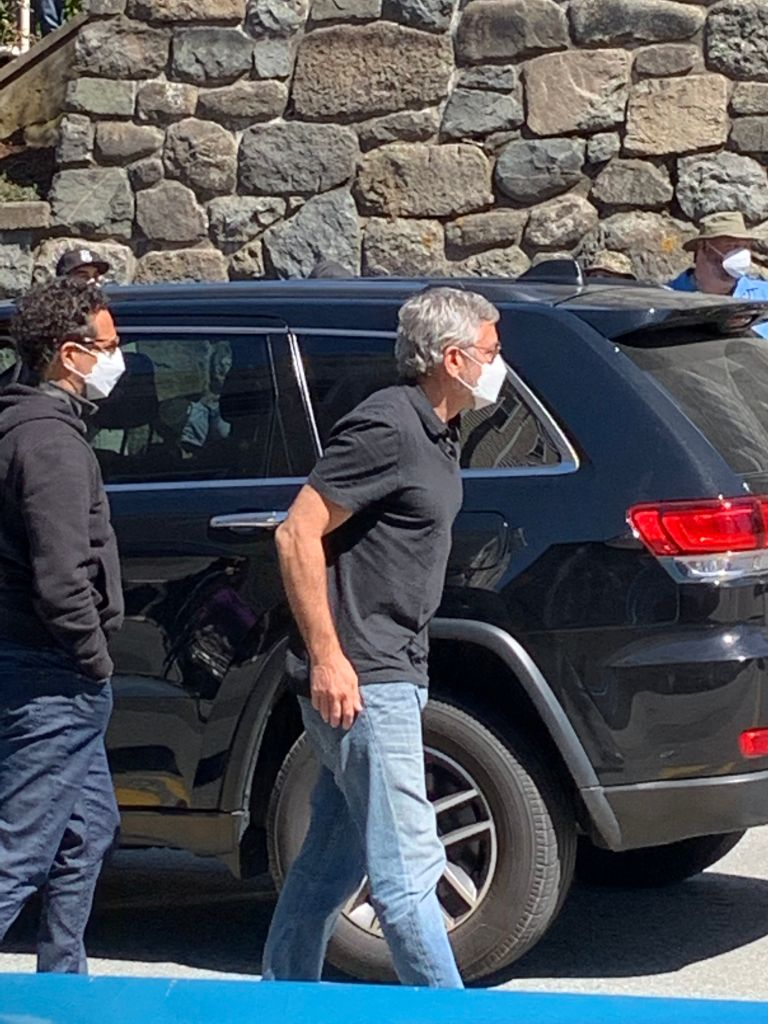 George Clooney at Marcorelle's Fine Wine and Beer