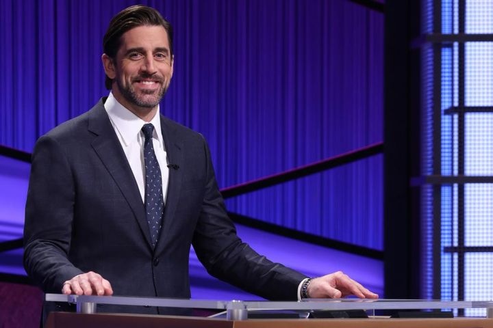 Jeopardy Aaron Rodgers Guest Host