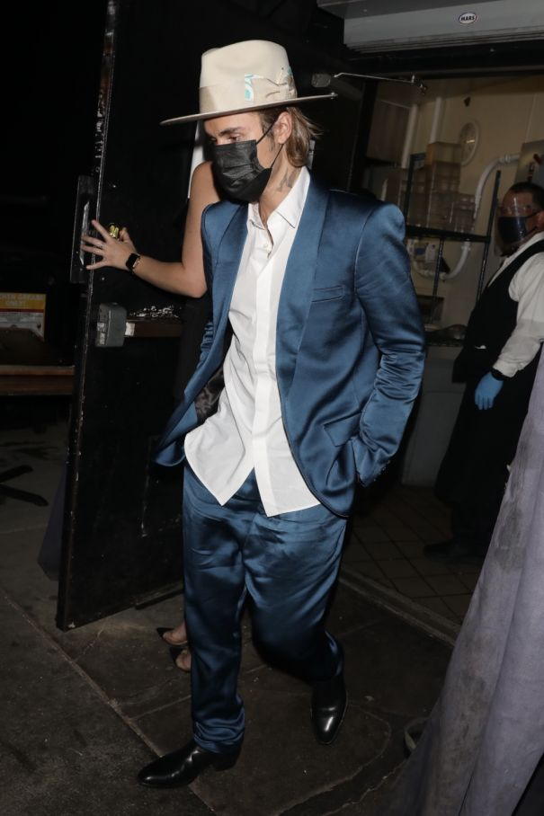 Justin Bieber Goes Out On The Town