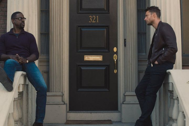 """Sterling K. Brown and Justin Hartley in """"This Is Us"""" – Photo NBC"""