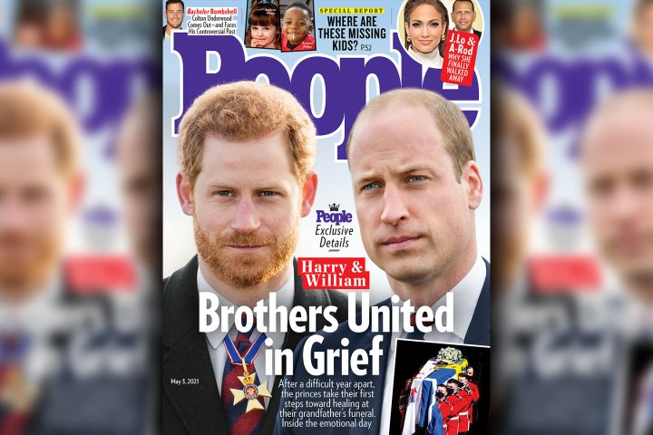 Prince Harry, Prince William.